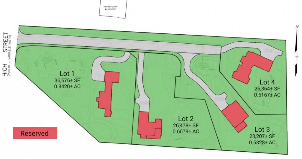 The Preserve at Audubon Hill - Site Plan